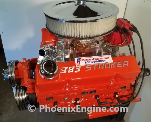 Chevy 383 ci 350 to 560 hp midnight orange turnkey package crate 383 stroker engine malvernweather Images