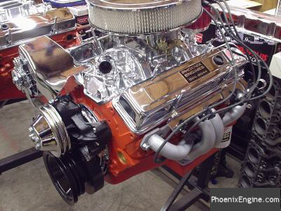 Chevy 350 - 355HP Turnkey Crate Engine. Scroll down for more photos.