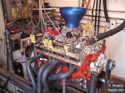 motor chevy 350