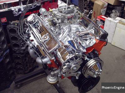 Chevy 350-355HP turnkey crate engine