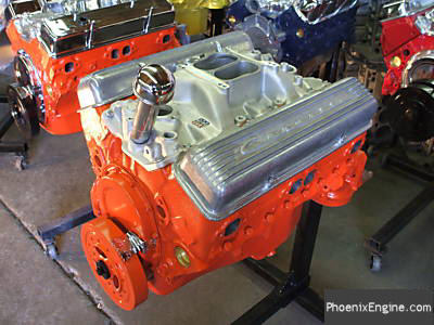 Chevy 327 350 HP Crate Engine