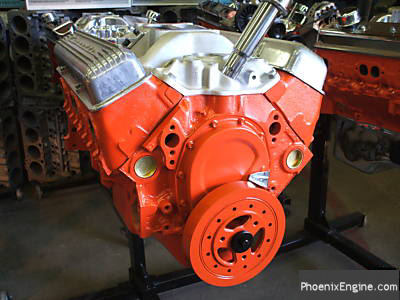 Chevy 327 crate engine from the 1960s - a real barn find