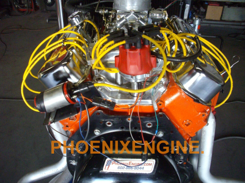 Phoenix Engine Chevy 454 turnkey crate engine