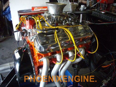 Chevy 454 475HP crate engine