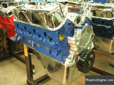Crate Engines for Ford 302 and Ford 351W  Midnight Blue Crate