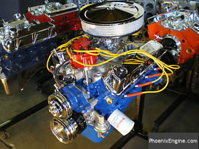 Ford turnkey crate engines for ford 302 and ford for Ford motor paint colors