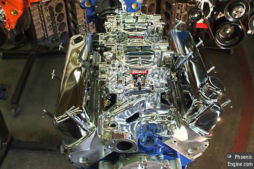 Crate Engines Ford 302380hp Dual Quads Aluminum Head