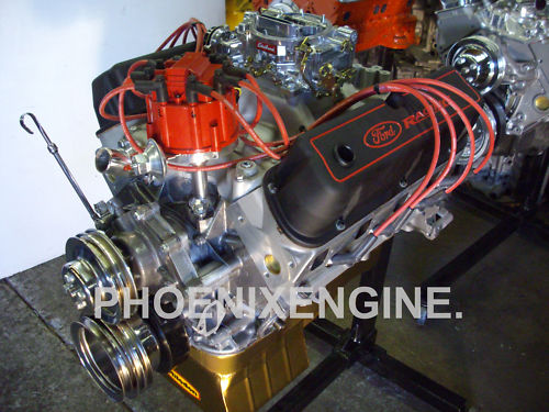 Ford 351 408HP to 452HP TurnKey Crate Engine for Mustang ...