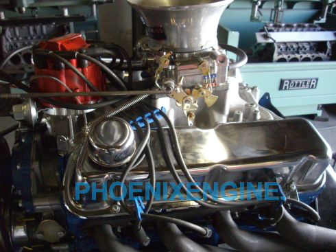 Ford 302 351-352HP Mustang crate engine in a Turnkey package