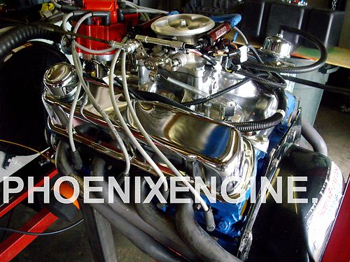 Ford 302 Fast Fuel TBI Turnkey Crate Engine 330HP plus