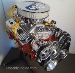 Chevy and ford crate engine catalog from phoenix engines call toll fitech and serpentine systems on this engine malvernweather Choice Image