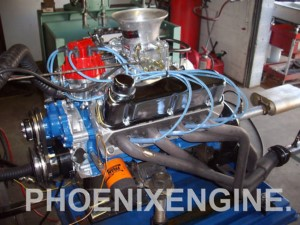 Click image for more details. This is a Ford 302-331-plus HP crate engine